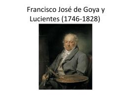Francisco José de Goya y Lucientes (1746