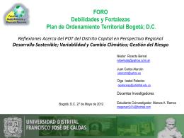 Presentacion_Foro_Consejo_Bta_U_Distrital_270513