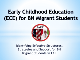 for Binational Migrant Students-Webinar