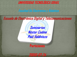 Diapositiva 1 - seminariouisrael