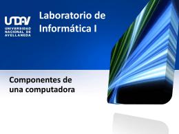 Laboratorio de informática I - lab-inf