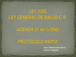 LEY GENERAL DE SALUD - JRM | Consultoria Industrial.