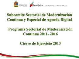 Diapositiva 1 - Portal del Gobierno del Estado de Quintana Roo