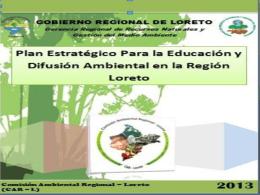 diapositiva Plan Estratégico de Educación y