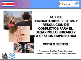 Comunicación Efectiva, PPTT