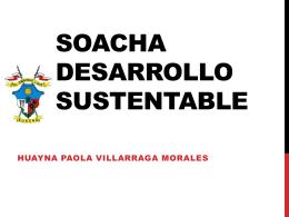 soacha desarrollo sustentable