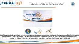 Presentacion del Sistema de Talleres Premium Soft