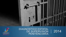 diagnóstico estatal de supervisión penitenciaría