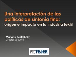 origen e impacto en la industria textil - Fundación PRO
