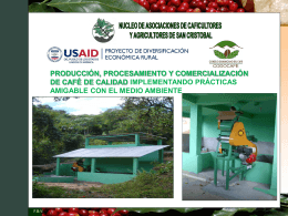 Proyecto NACAS-USAID/RED