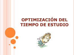 optimizacindeltiempodeestudio