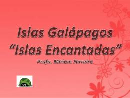 Islas Galápagos - Escuela Agraria Durazno