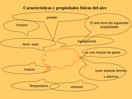 present. # 1 propiedades del aire