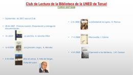Actividades - Biblioteca UNED Teruel
