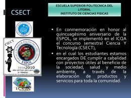 información… - Blog de ESPOL