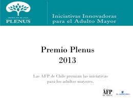 Premio Plenus 2012