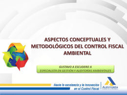 1. Control Fiscal Ambiental