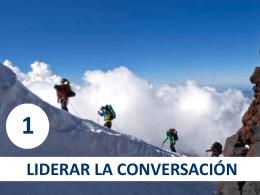 7. Liderar la conversación