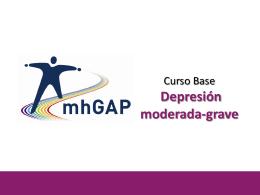 Depresión moderada-grave