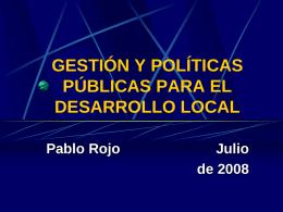 Mesa I, ponencia 2 - Foro Nacional sobre Federalismo y
