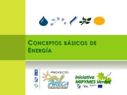 Conceptos básicos de Energía