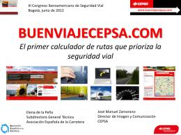 BUENVIAJECEPSA.COM El primer calculador de rutas que prioriza