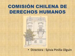 COMISIÓN CHILENA DE DERECHOS HUMANOS