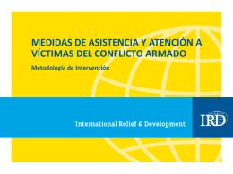 Obj 2 Asistencia y Atención a Víctimas de Desplazamiento Oct12