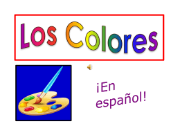 Los Colores - Central City Public Schools