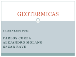 GEOTERMICAS