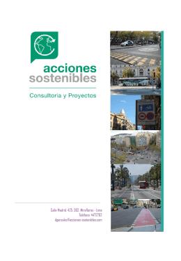 Descargar Brochure - Acciones Sostenibles