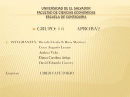 Nombre Legal - EQUIPO6APROB2