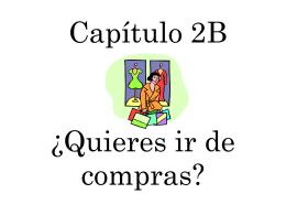 Capítulo 2B - senoritakudrakespanol