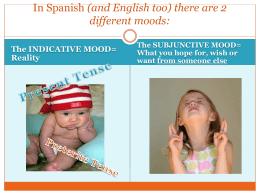 + subjunctive