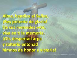 Alma bendice al Señor - Iglesia Evangélica Ciudad Meridiana