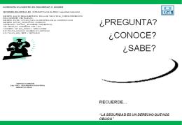 Boletín Informativo sobre Seguridad Industrial