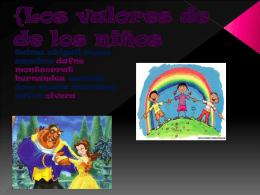 {Los valores de de los niños - quintob-2