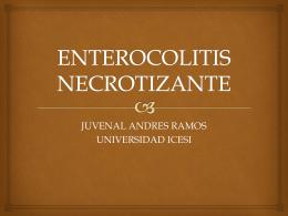 Presentación enterocolitis necrotizante