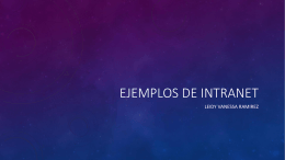 EJEMPLOS DE INTRANET - Over-blog