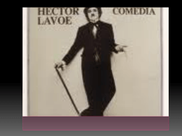Hector Lavoe ppt