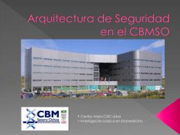 Arquitectura de Seguridad en el CBMSO