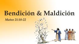 Mateo 21:18 - Familia Semilla