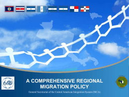 Spheres of the Comprehensive Regional Migration Policy