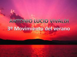 3º Movimiento del verano