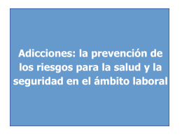 Adicciones - Bodegas De Argentina