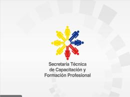 Secretaría Técnica de Capacitación y Formación Profesional