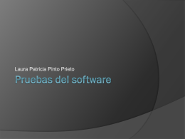 Pruebas del software