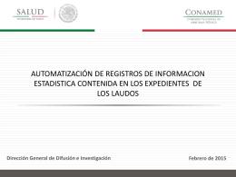 A9_Presentación definitiva laudos - Comisión Nacional de Arbitraje