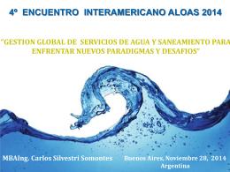 Presentación a cargo del Sr Carlos Silvestri Somontes