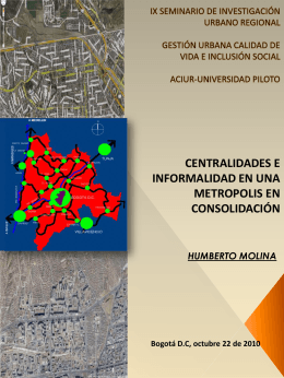Conferencia 7, Humberto Molina